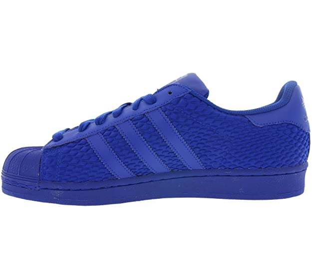 Amazon.com | adidas Originals Superstar Mens Trainers S31641 Sneakers Shoes (US 8.5, Blue Blue AQ3050) | Fashion Sneakers