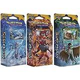ALL 3 Pokemon Sun & Moon English Theme Decks: Rowlet, Litten, & Popplio!