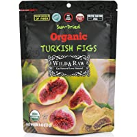 Organic Sun Dried Turkish Figs - 6oz (Pack of 6) - Kosher and Non-GMO