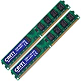 CRIT! 4GB KIT DDR2 RAM 800MHz PC2-6400 (240 PIN) DIMM Desktop Memory (2x 2GB)