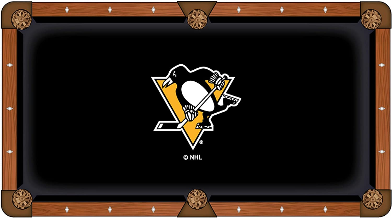 Pittsburgh Parent Penguins 7' HollandバースツールCo。ブラックビリヤードプールテーブルクロス B01KMZ9QP2 Pittsburgh Parent 7' (104\, SHOES WAN:f762230a --- krianta.com