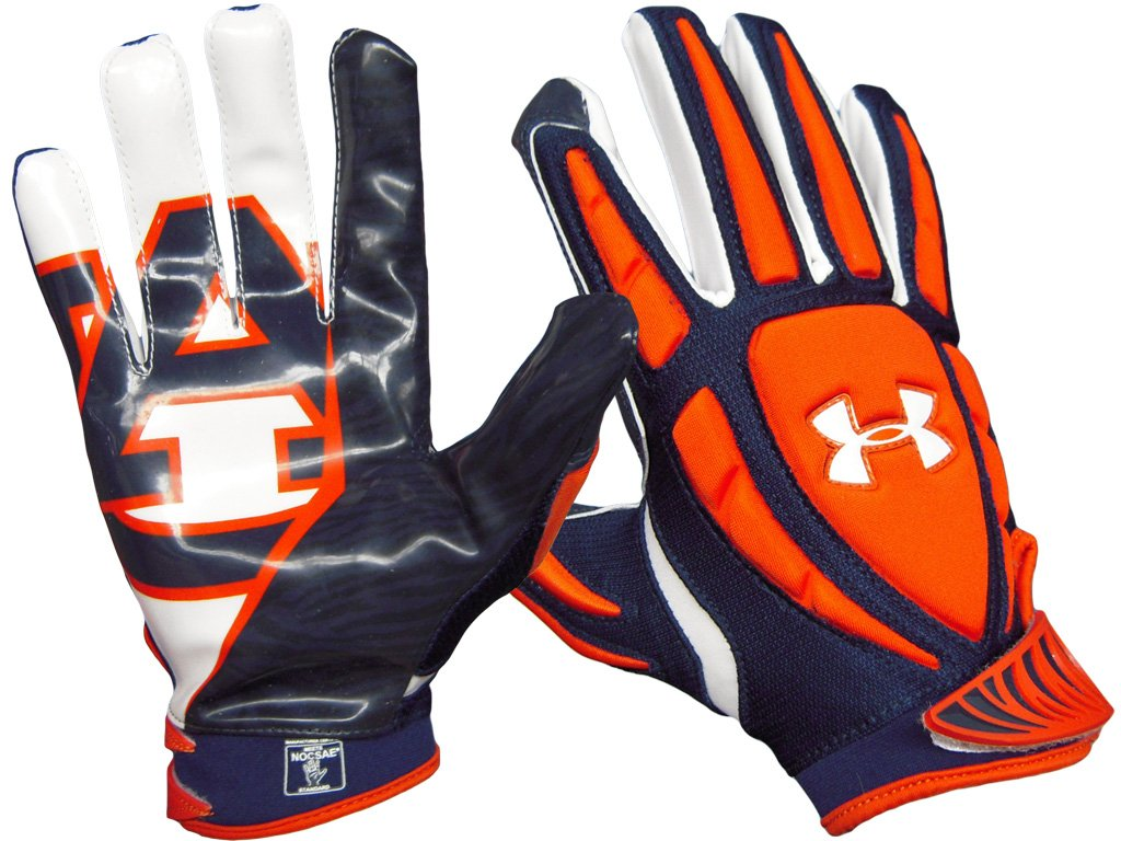 under armour youth receiver gloves