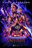 Marvel: The Avengers Endgame Movie Poster 24x36 inches This is a Certified Print with Holographic Sequential Numbering…