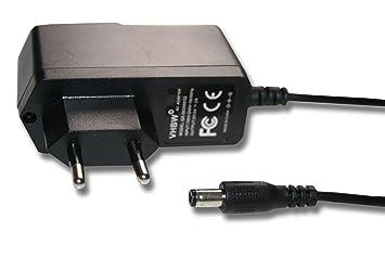 vhbw 220V Cargador 10W (5V/2A) con Enchufe Redondo para ...