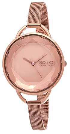 SO & CO New York SoHo 5104.4 - Reloj de pulsera Cuarzo Mujer correa deAcero inoxidable