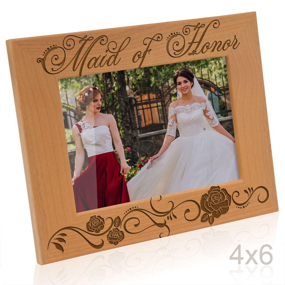 Amazoncom Kate Posh Maid Of Honor Picture Frame 4x6 Horizontal