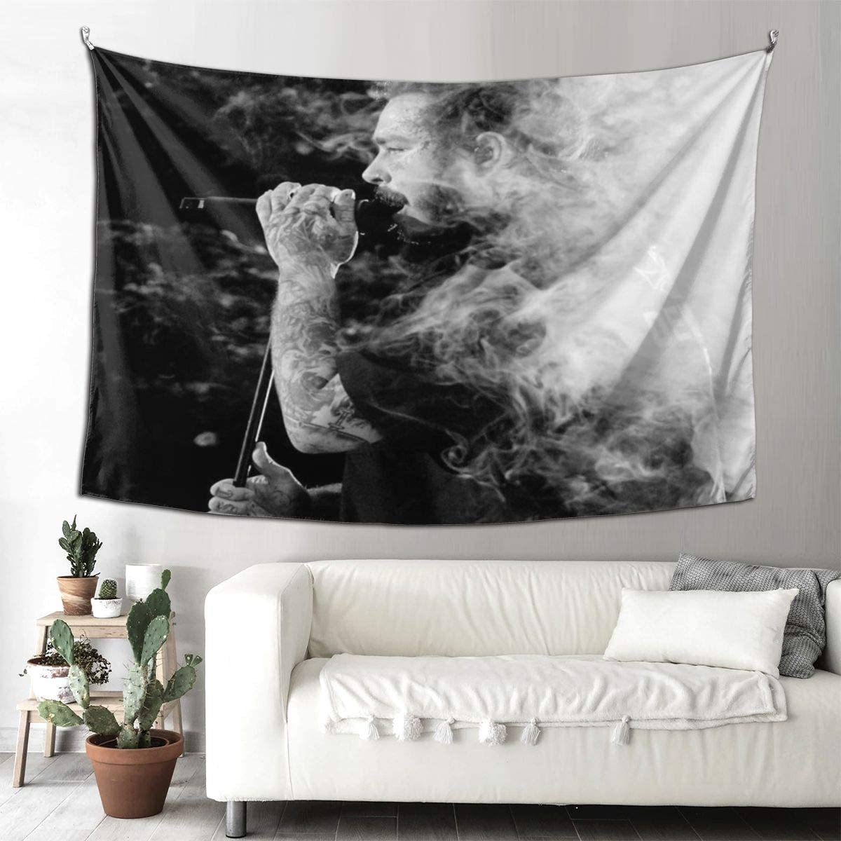 AkanaRika Tapestry Wall Hanging,Po-st Ma-Lone Art Tapestry,Wall Art Decoration for Living Room Bedroom Dorm Home 60 X 90 Inches,152 X 230 cm