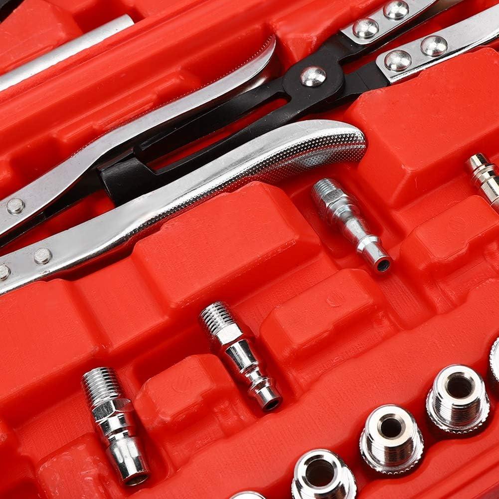 Kit di Manutenzione della Testata del Cilindro Zerone Compressore della Molla della valvola di Servizio della Testata del Cilindro Kit di Attrezzi per la Manutenzione della Testata del Cilindro