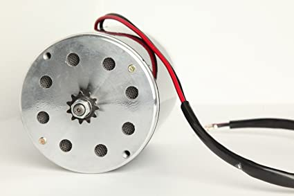 Amazon com : Electric Motor 48 Volt DC 1000 Watt for Scooter Bike Go