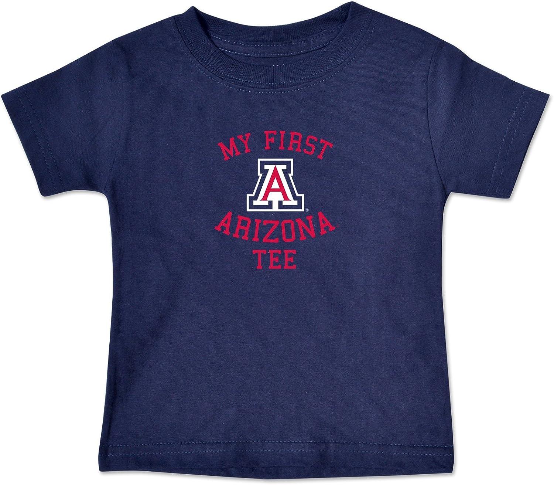 Navy College Kids NCAA Arizona Wildcats Infant Short Sleeve Tee 12 Months