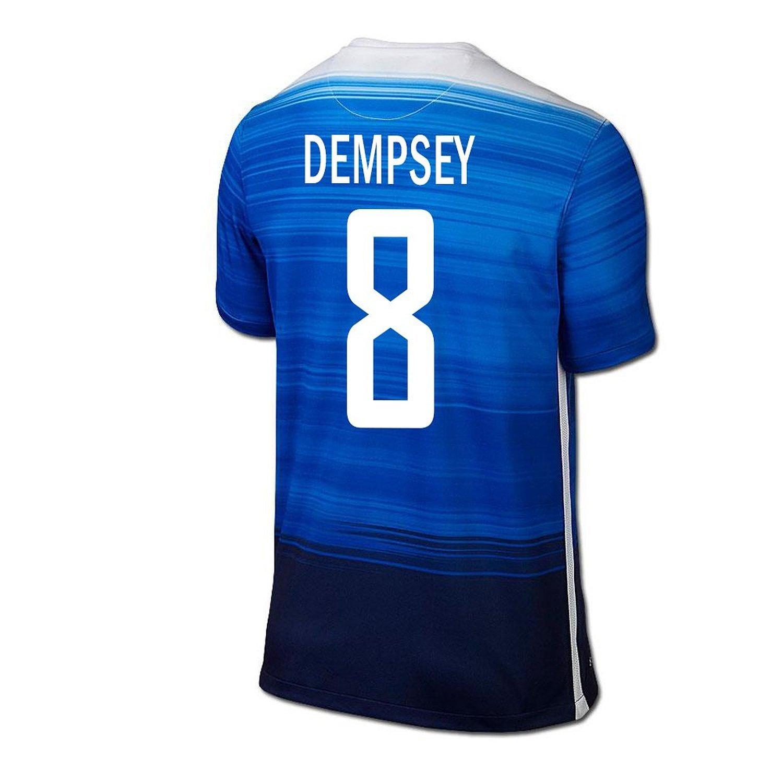 Nike Dempsey #8 USA Away Soccer Jersey 2015/16 -YOUTH/サッカーユニフォーム アメリカ アウェイ用 デンプシー 背番号8 2015 ジュニア向け B018T6WIP6 Y-Medium, ケンズゴルフ 2f1c09c6