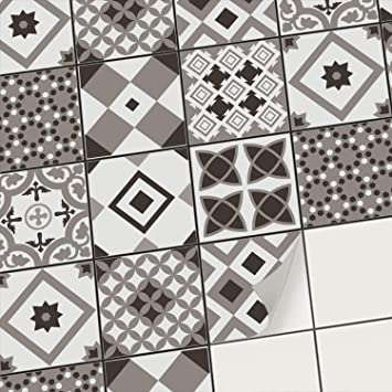 Creatisto Fliesenaufkleber Fliesenfolie Mosaikfliesen Aufkleber