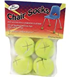 Amazon Price History for:The Classics Chair Sox, Yellow, 4 Count (TPG-230)
