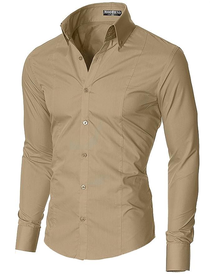 35 opinioni per MODERNO- Camicia Classico Uomo (MSSF501)
