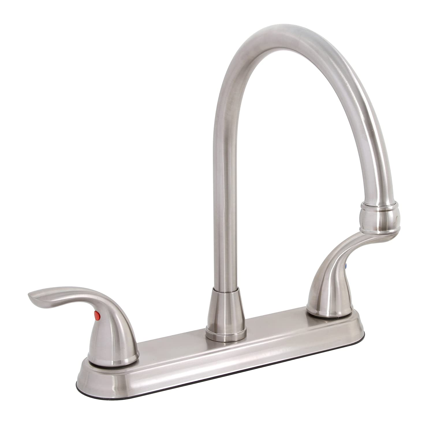 PREMIER GIDDS-120446LF Westlake Kitchen Faucet with Two Handles, Brushed Nickel, Lead Free
