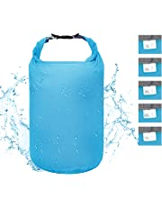 Premium Waterproof Dry Bag Lightweight 2L/5L/10L/20L/40L/70L,Roll Top Dry Compression Sacks Small Large Keeps Gear Dry for Kayaking,Rafting,Boating,Hiking,Swimming,Camping,Travelling,Sailing,Snowboarding