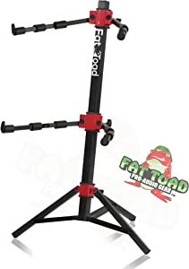 DJ Workstation Stand by Fat Toad | Portable, Adjustable Sliding Stand For Mixer, MIDI Controller Mount, Keyboard, Laptop, Tablet, Synthesizer Table Mount (Multiuse) | Pro-Audio Stage Performance Gear