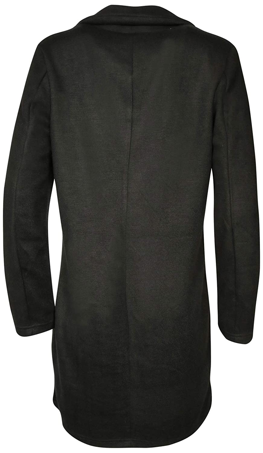 Urban Republic Womens Brushed Fleece Trench Coat Jacket
