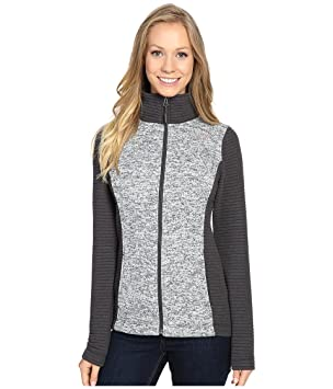 4f5cb0aa2 The North Face Indi Full Zip Jacket Women's Lunar Ice Grey Heather ...