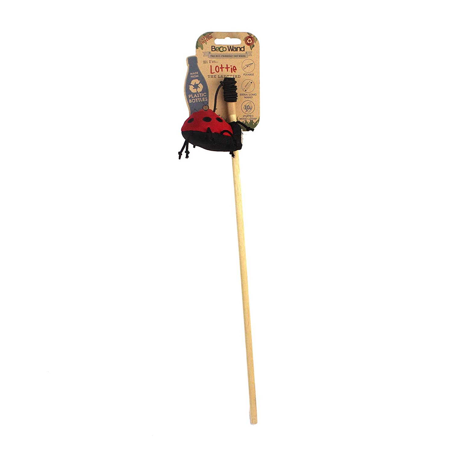 Beco Pets Cat Wand Toy Beco Things BCWT - 004