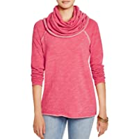 EVELUST Cute Comfy Cowl Neck Pullover,Womens Long Beach Cocoon Soft Warm Cotton Sweaters