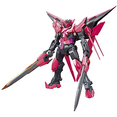 Bandai Hobby HGBF Gundam Exia Dark Matter Model Kit (1/144 Scale): Toys & Games