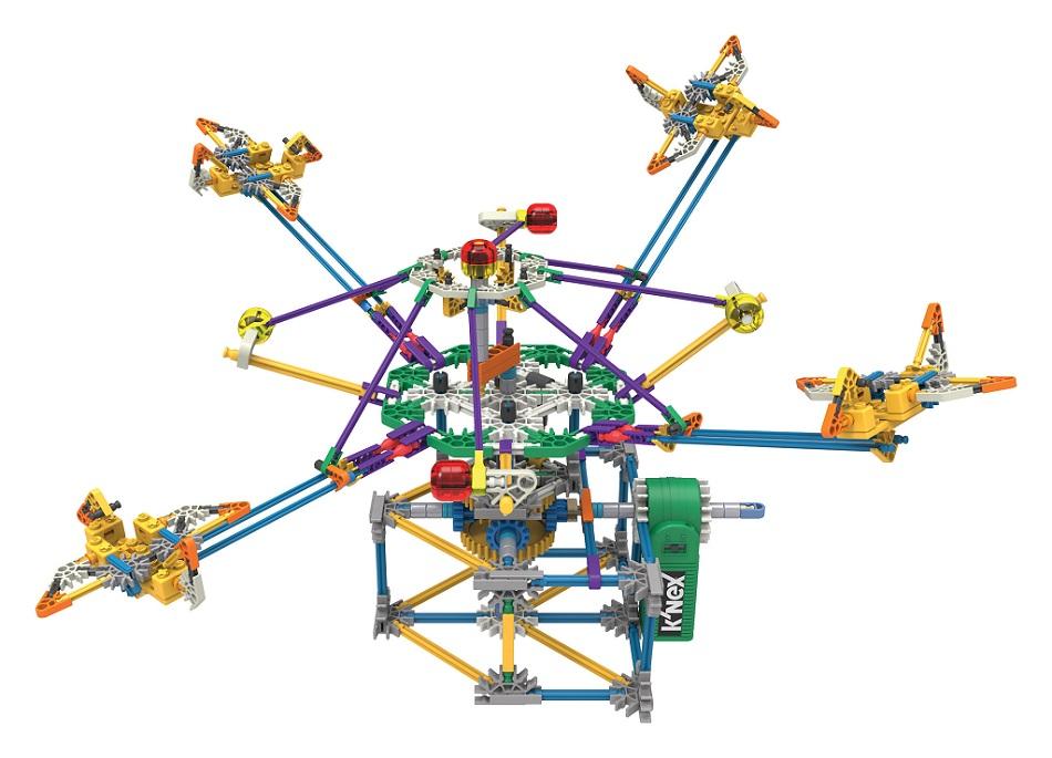 Amazon Knex Supersonic Swirl Building Set Toys Games