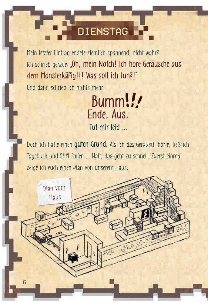 Minecraft: Tagebuch eines Super-Kriegers: 9783741521065: Amazon.com ...