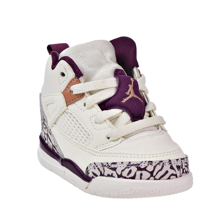 Jordan Spizike GT Toddlers Basketball Shoes Sail//Bordeaux-Metallic Red Bronze 684932-132