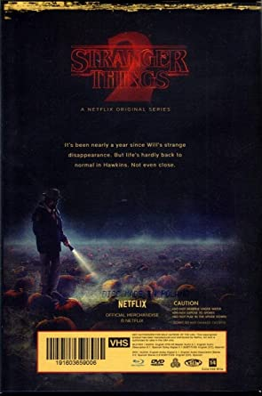 Amazon Com Stranger Things Season 2 Blu Ray Dvd Exclusive Vhs Retro Packaging Collector S Edition Movies Tv