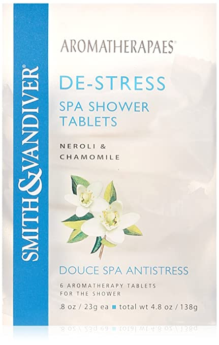 Aromatherapaes Spa Shower De Stress 6 Tablets/4.8 oz