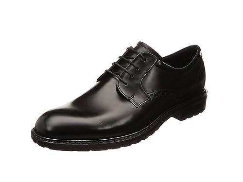 f482cbc95a ECCO Men's's Vitrus I Tie Oxford Black Plain Toe 39 M EU (5-5.5