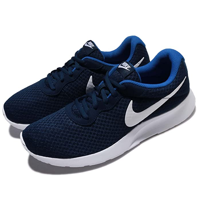 Nike Tanjun Herrenschuh Blau (Midnight Navy Blau/Weiß/Game Royal Blau)
