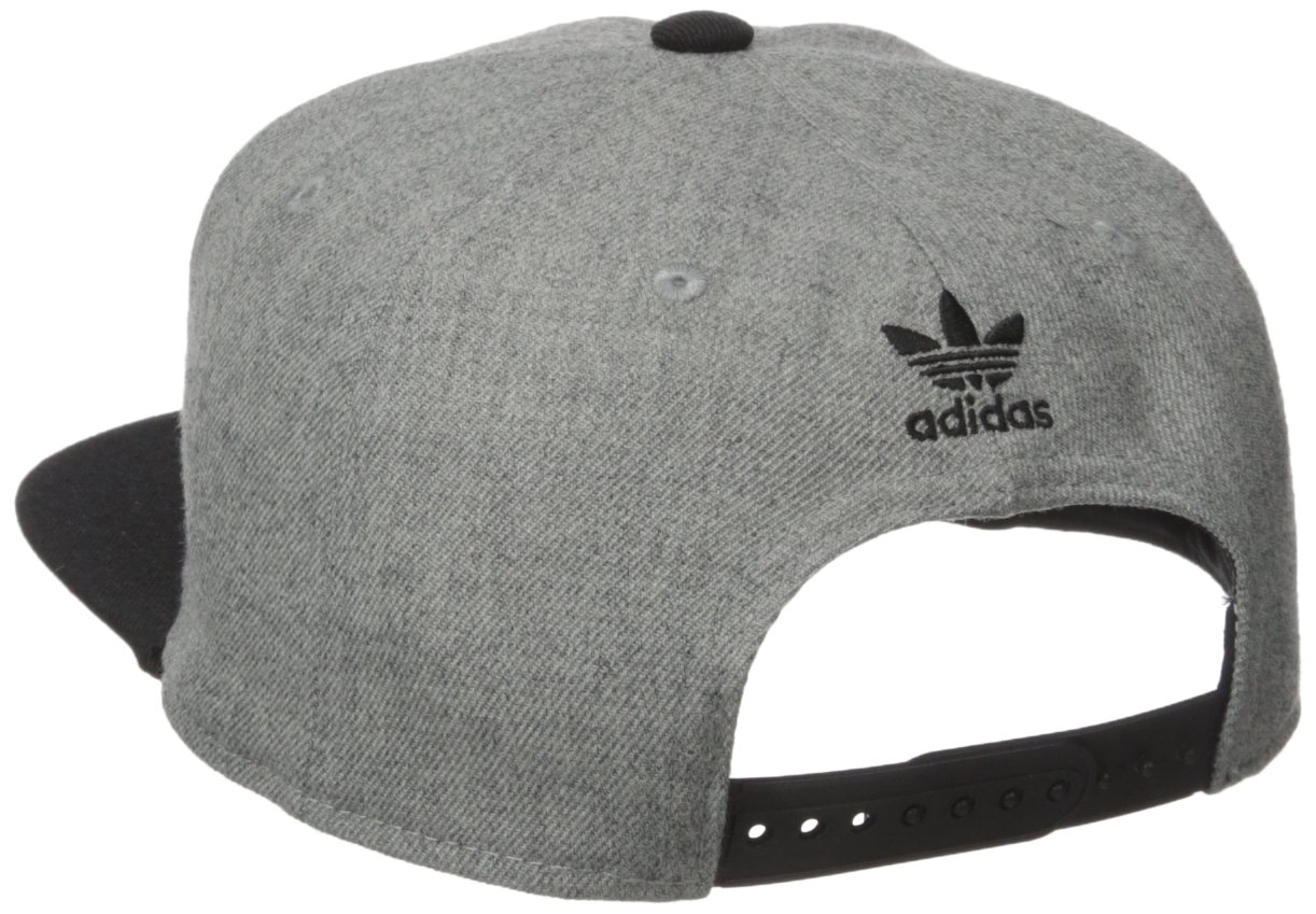 6e9db6976fd adidas Men s Originals Trefoil Chain Snapback Cap