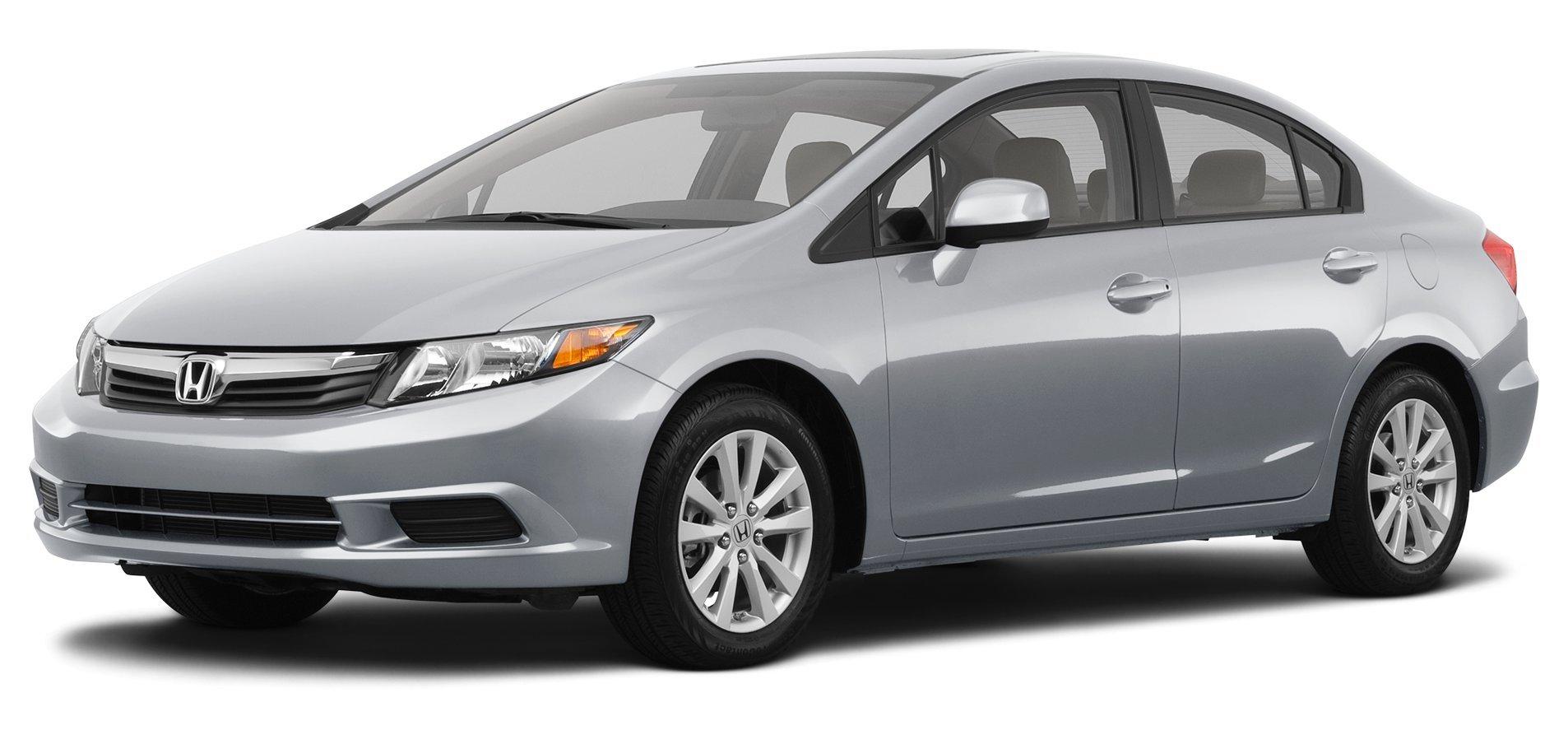 ... 2012 Honda Civic EX-L, 4-Door Automatic Transmission PZEV ...