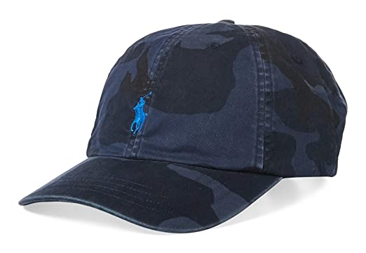Polo Ralph Lauren Mens Twill Signature Ball Cap at Amazon Men s ... a1120747d25