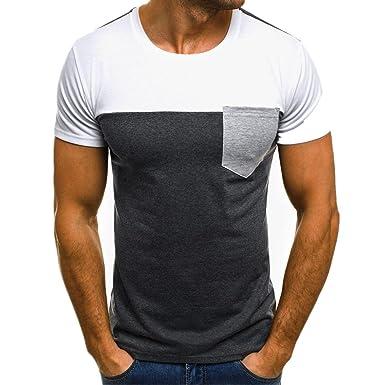 Camiseta para Hombre, ❤️Xinan T-Shirt Camiseta para Hombre tee Cuello Redondo Tops Camisetas Ropa Hombre Barata Deportiva 2018 Ofertas: Amazon.es: Ropa y ...