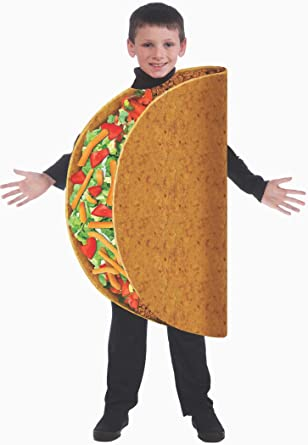 Child Taco Costume One Size