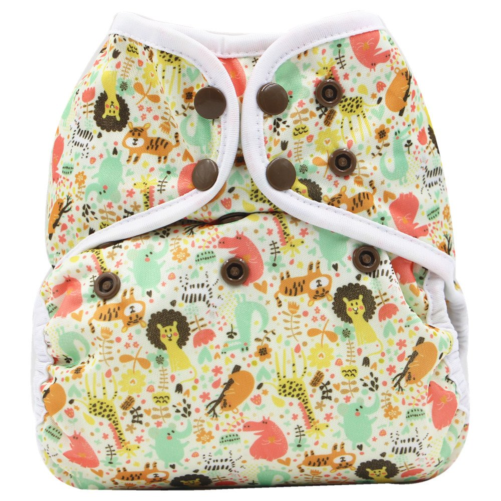 New Newborn Infant Baby Cloth Diaper cover, Reusable, Washable, Adjustable (C08) CN