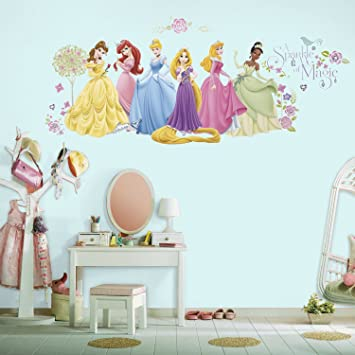 Asian Paints Nilaya Disney Glow Princess Peel U0026 Stick Wall Decals