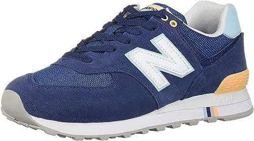New Balance Wl 574 NSC Sneaker Damen Gelb Sahne