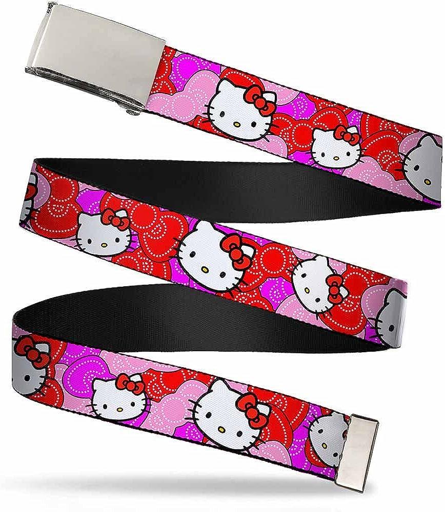 Buckle-Down Web Belt Hello Kitty 1.5