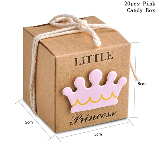Artknock Gift Box Caja de Papel Kraft para Dulces, 20 ...