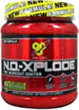 BSN N.O.-XPLODE Pre-Workout Igniter - Green Apple - 20 MORE FREE