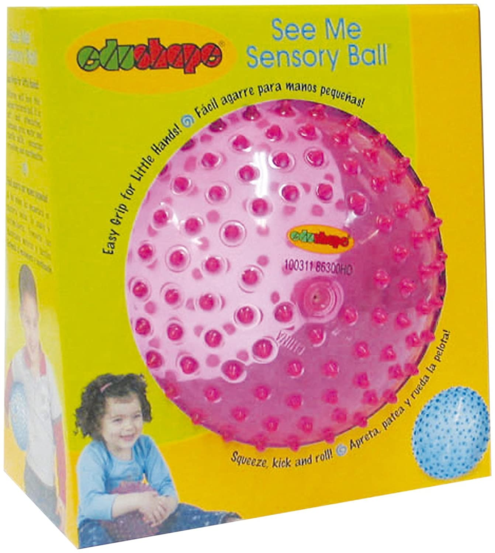 Edushape Senoso-Dot Balls Pack of 4 Children Kids Bouncy Spikey Toy Outdoor Game