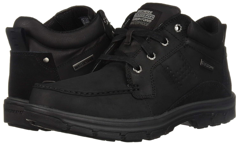 Skechers Herren - Segment MELEGO 64522 - schwarz, schwarz, schwarz, Schuhgröße EUR 42 68a9da
