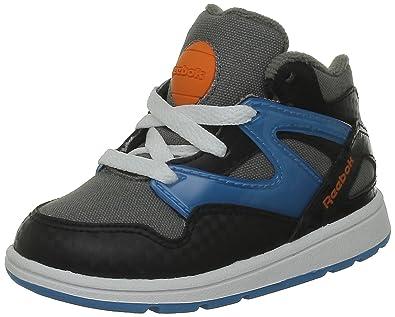 e0dd137406c1 Reebok Boys  Versa Pump Omni Lite First Walking Shoes Grey Size  1.5 ...