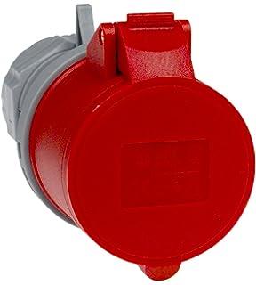 Unterschiedlich PCE 40829L CEE-Stecker mit Phasenwender, 16A, rot, lose: Amazon.de  MC07