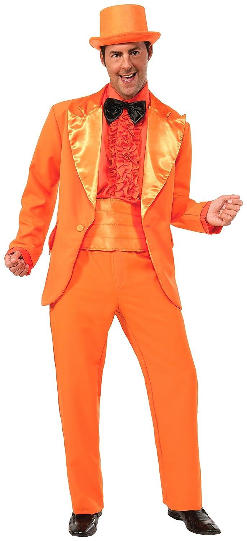 Orange Prom Tuxedo Adult Male Costume X-Large