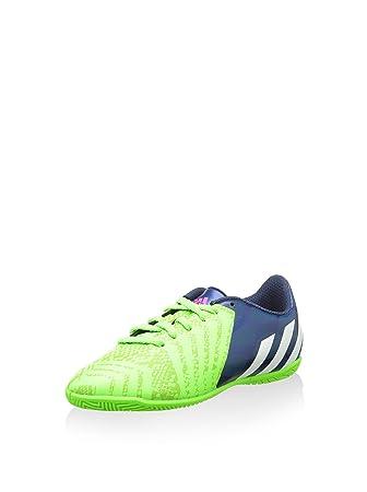 3fadb8ef3 Adidas PREDITO INSTINCT IN J Green Kids Junior Indoor Football Soccer Shoes